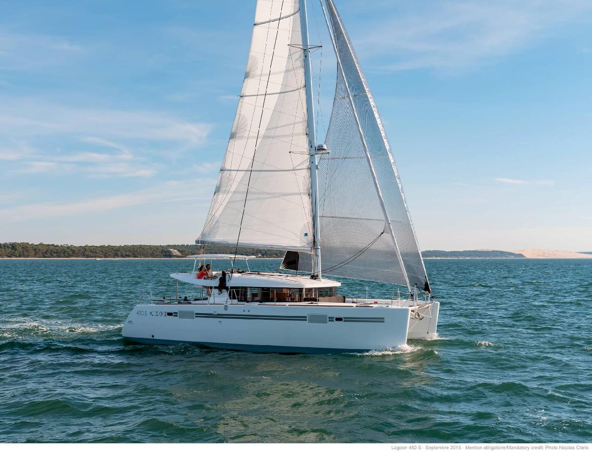 Yacht Charter investor, Lagoon 450