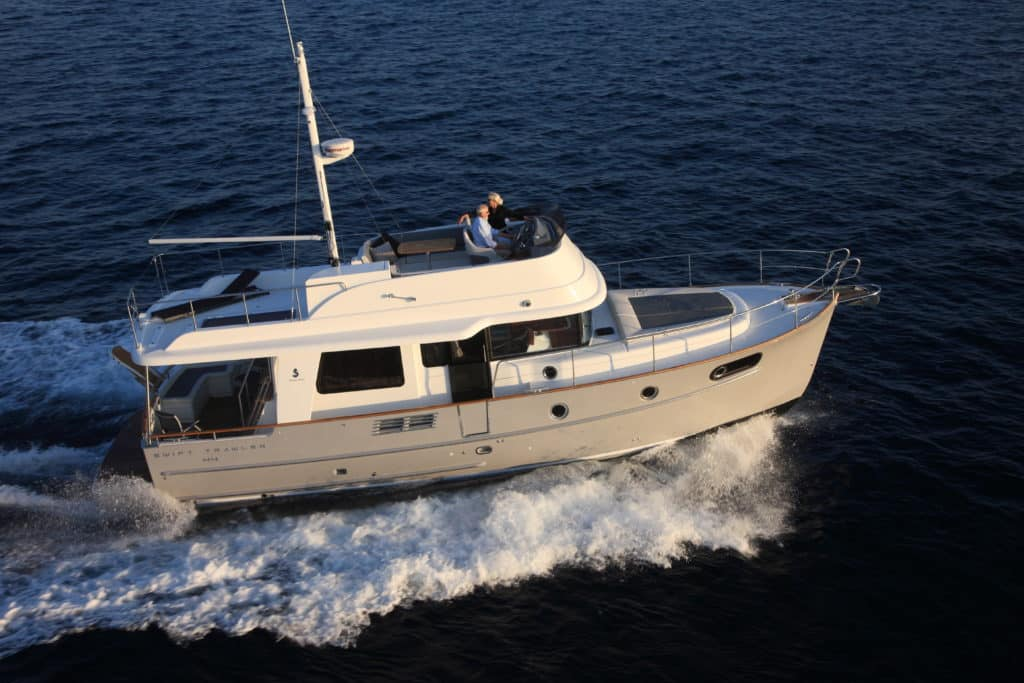 Swift TRawler 44 exterior