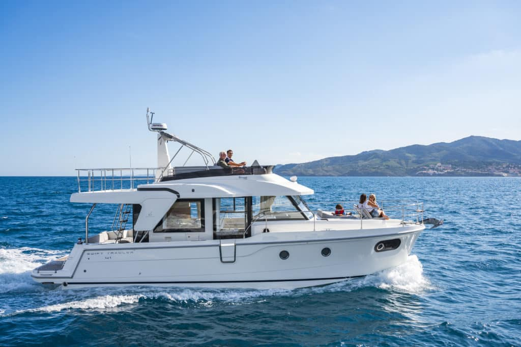 Swift Trawler 41 Fly exterio