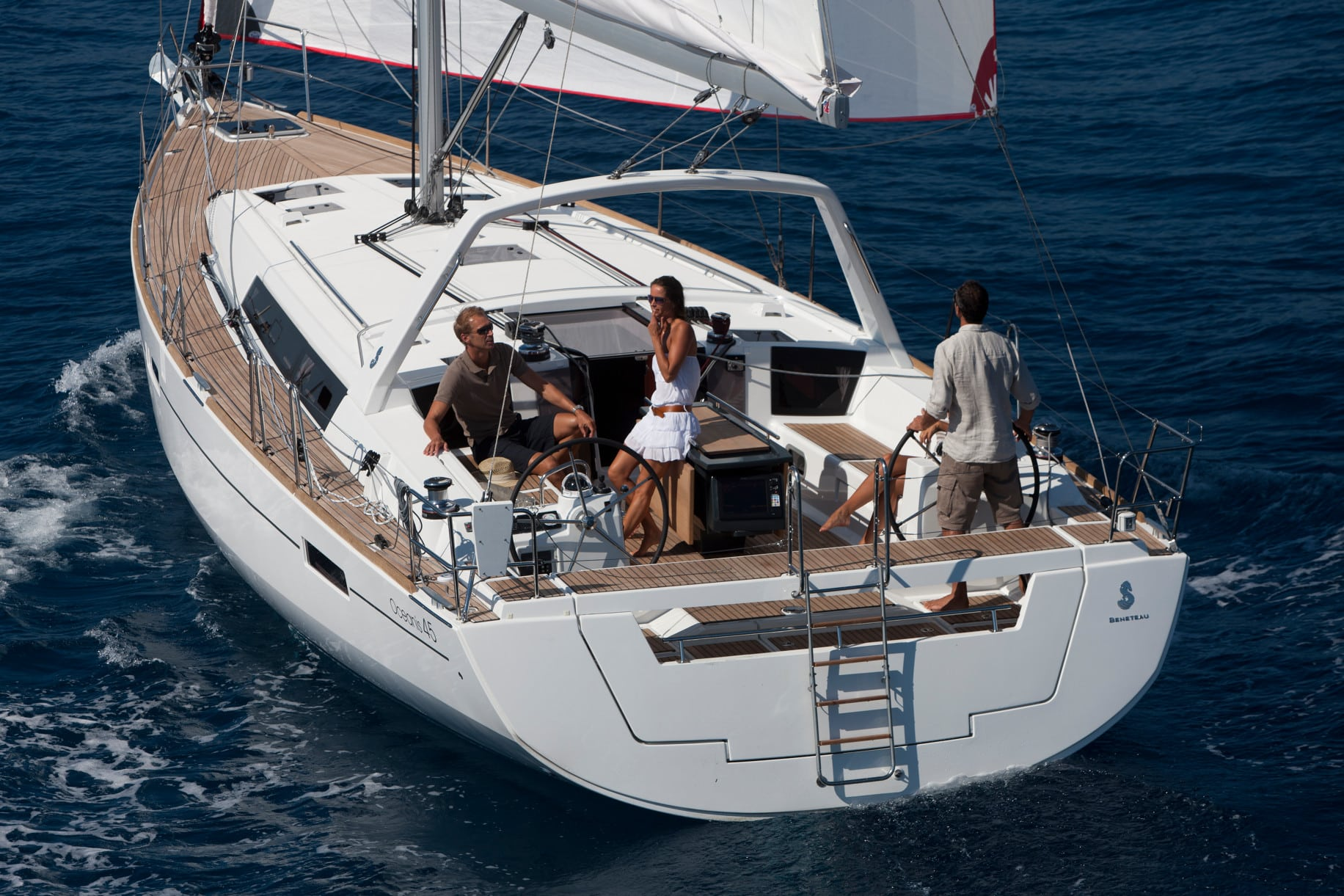 Private owner, Oceanis 45