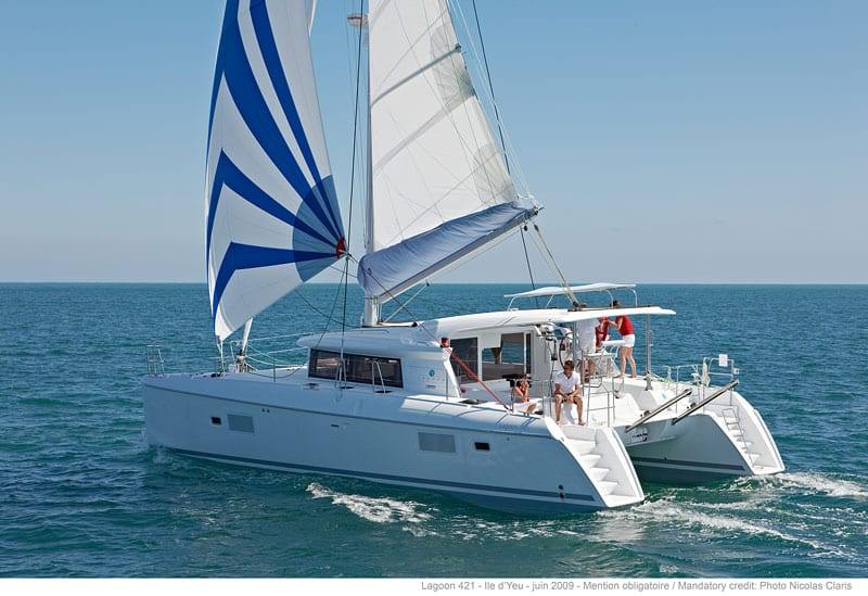 Private owner Lagoon 421